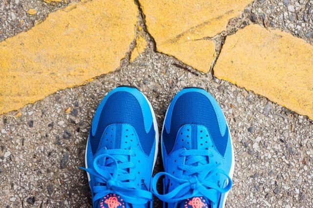 Huarache Gym Blue Bumperoo 3