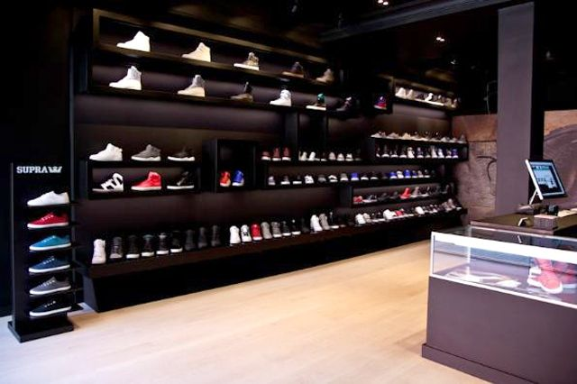 Supra Nyc Store Selection