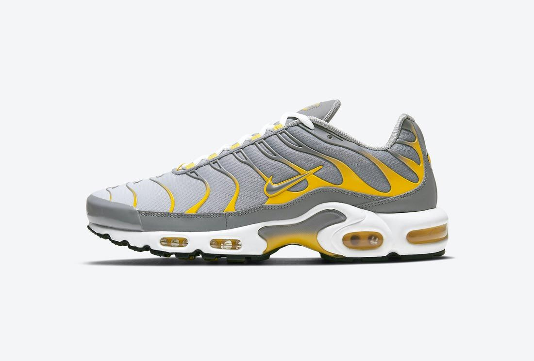 Nike Air Max Plus Grey/Yellow