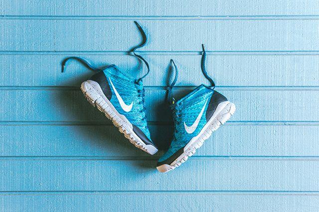 Nike Flyknit Squadron Blue