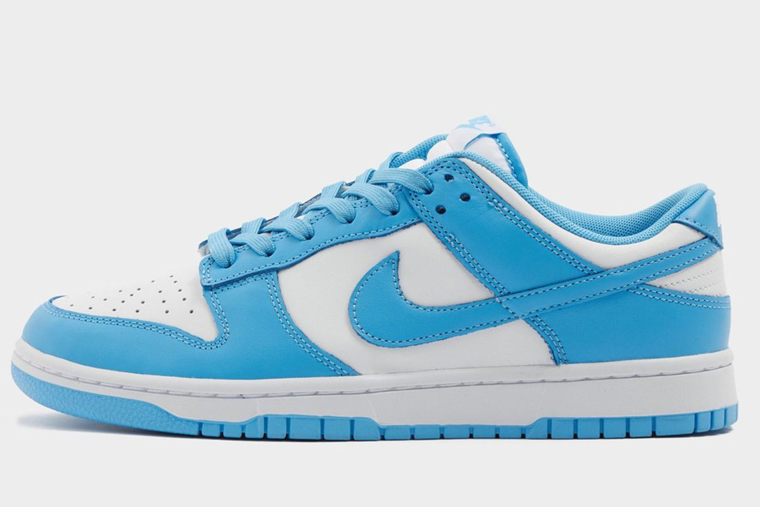 nike dunk low university blue first look