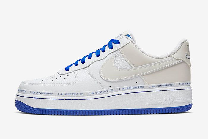 Uninterrupted Nike Air Force 1 More Than Cq0494 100 Release Date Side