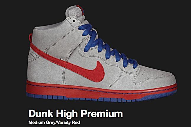 Nike Medium Grey Sb Dunk Hi 2010 1
