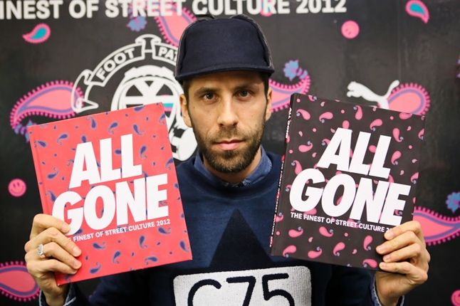 All Gone Book Launch At Foot Patrol With Michael Dupouy With Both Cover 1