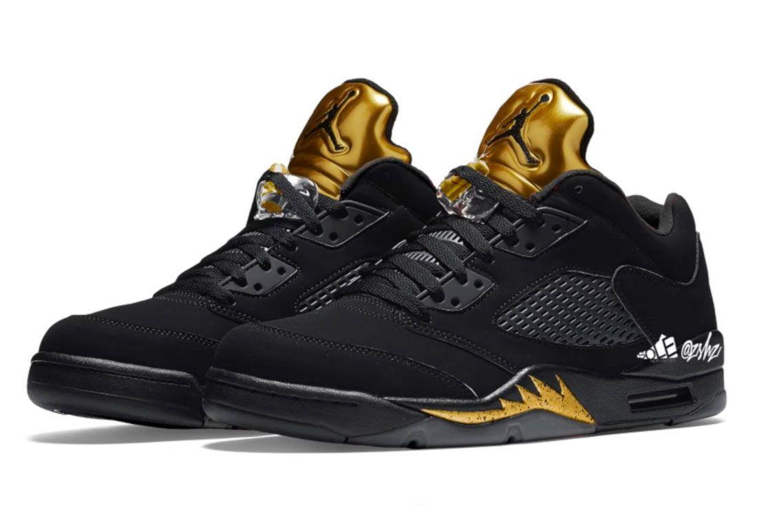 Air Jordan 5 Low 'Metallic Gold'