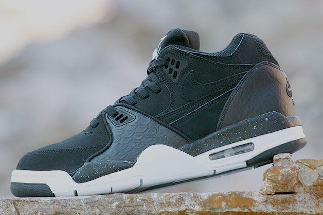 Afew Store Sneaker Nike Air Flight 89 Black White Coolgrey 17