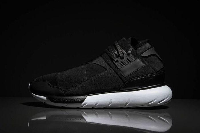 Adidas Qasa Y3 Black White1