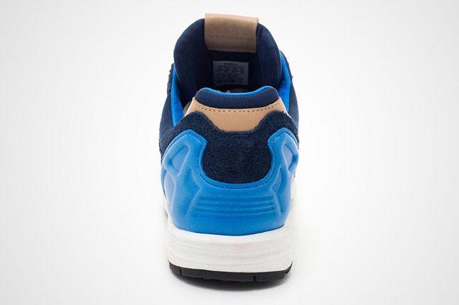 Adidas Zx 8000 Navy Blue Heel 1