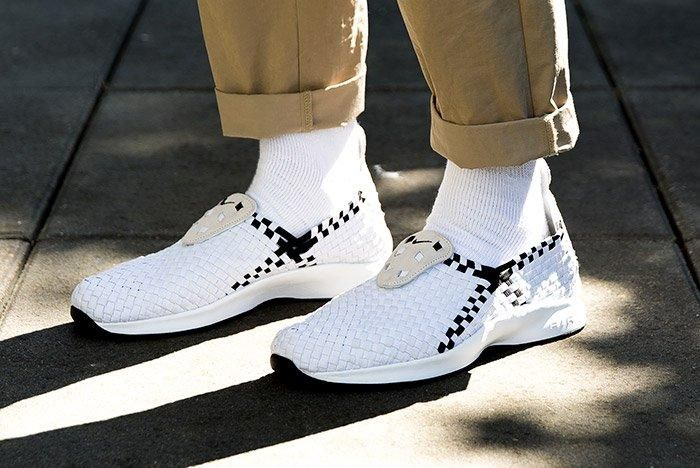 Nike Air Woven White Black 2