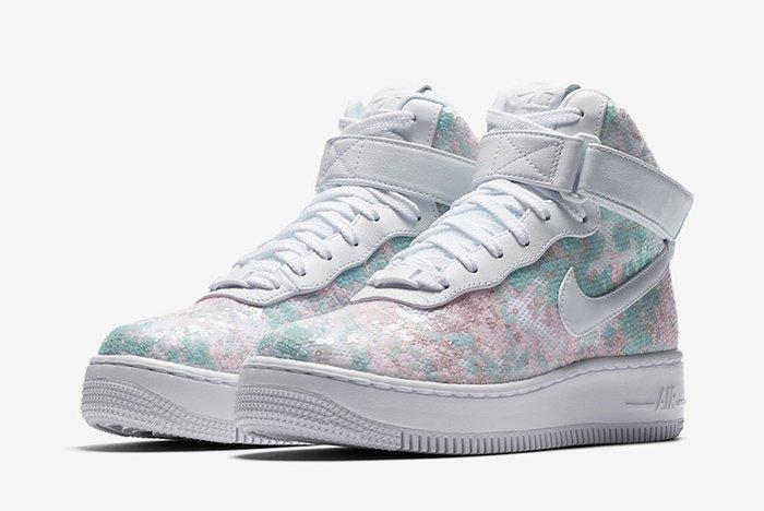 Nike Air Force 1 Upstep High Sequin 4
