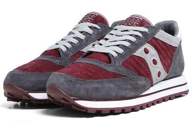 White Mountaineering Saucony Jazz Original Burgundy 1