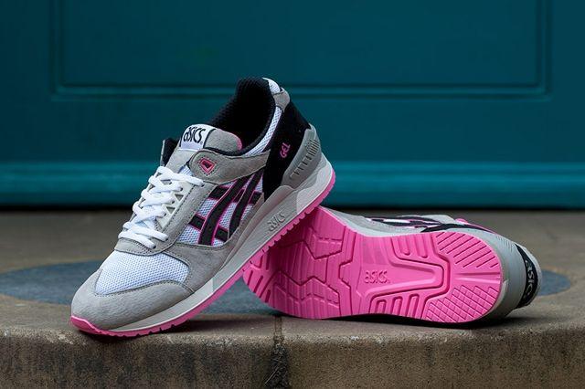 Asics Gel Respector White Grey Pink 6