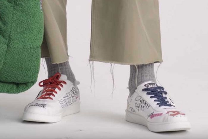 Pharrell Chanel Capsule Collection 02 On Foot Pair