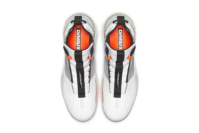 Nike Air Max 720 Waves White Black Wolf Grey Bq4430 100 Release Date Top Down