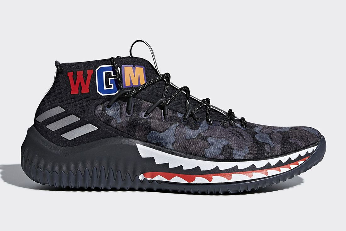 Bape X Adidas Dame 4 Release Date 6