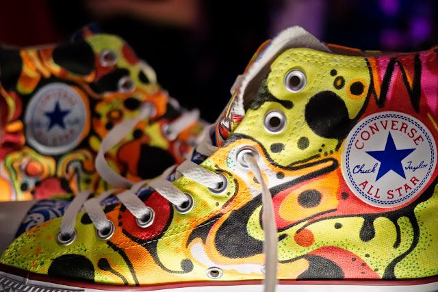 Converse And Warner Music In Their Shoes Charity 15