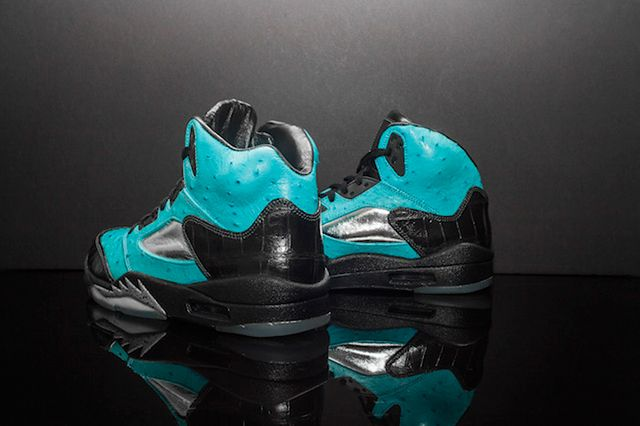 Custom Air Jordan 5 Tiffany Jbf Customs 2