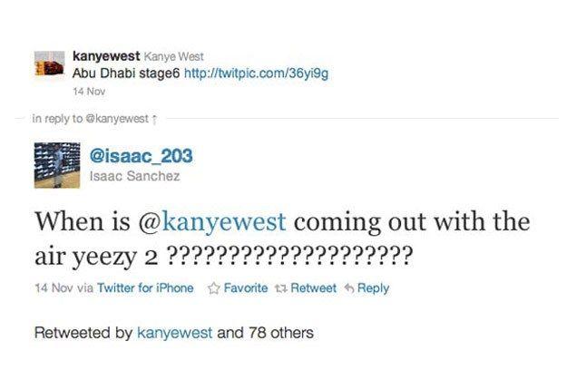 Tweet Yeezy 2 1