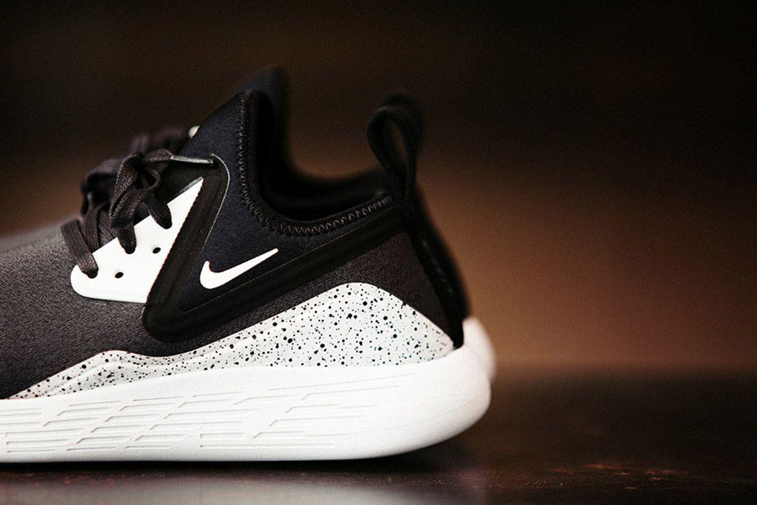 Nike Lunarcharge Black White 7