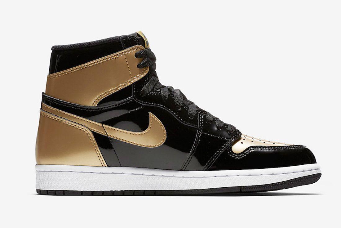 Gold Toe Air Jordan 1 861428 007 Sneaker Freaker 1
