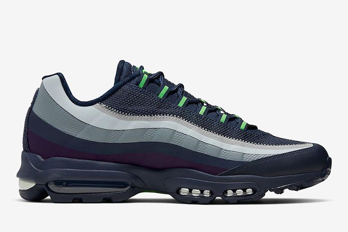 Nike Air Max 95 Ultra Seattle Seahawks Right