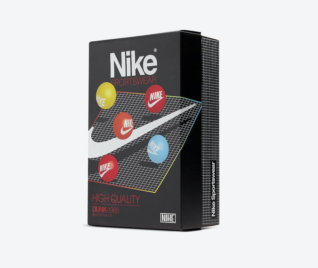 Nike Dunk High Acid Wash Box