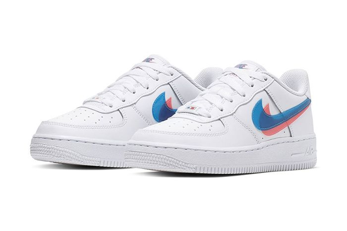 Nike Air Force 1 Low 3D Gs Release Date Pair