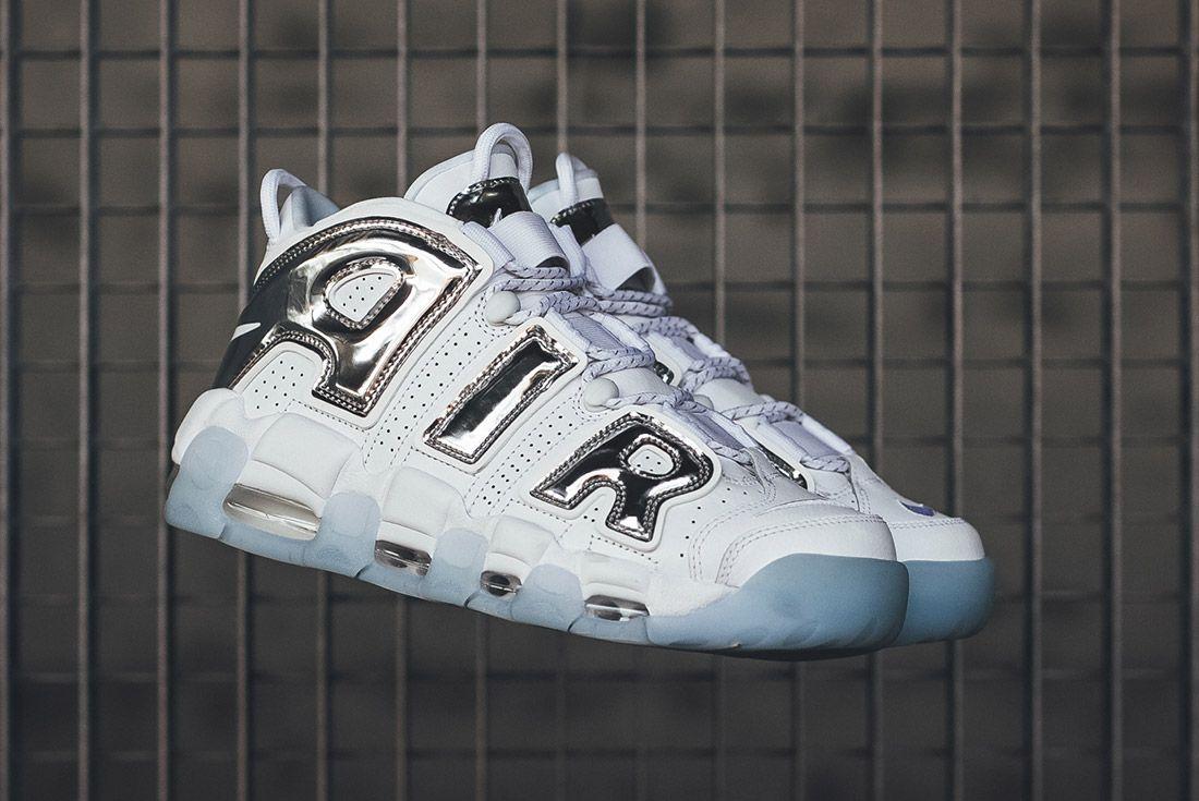 Nike Air More Uptempo White Chrome 1