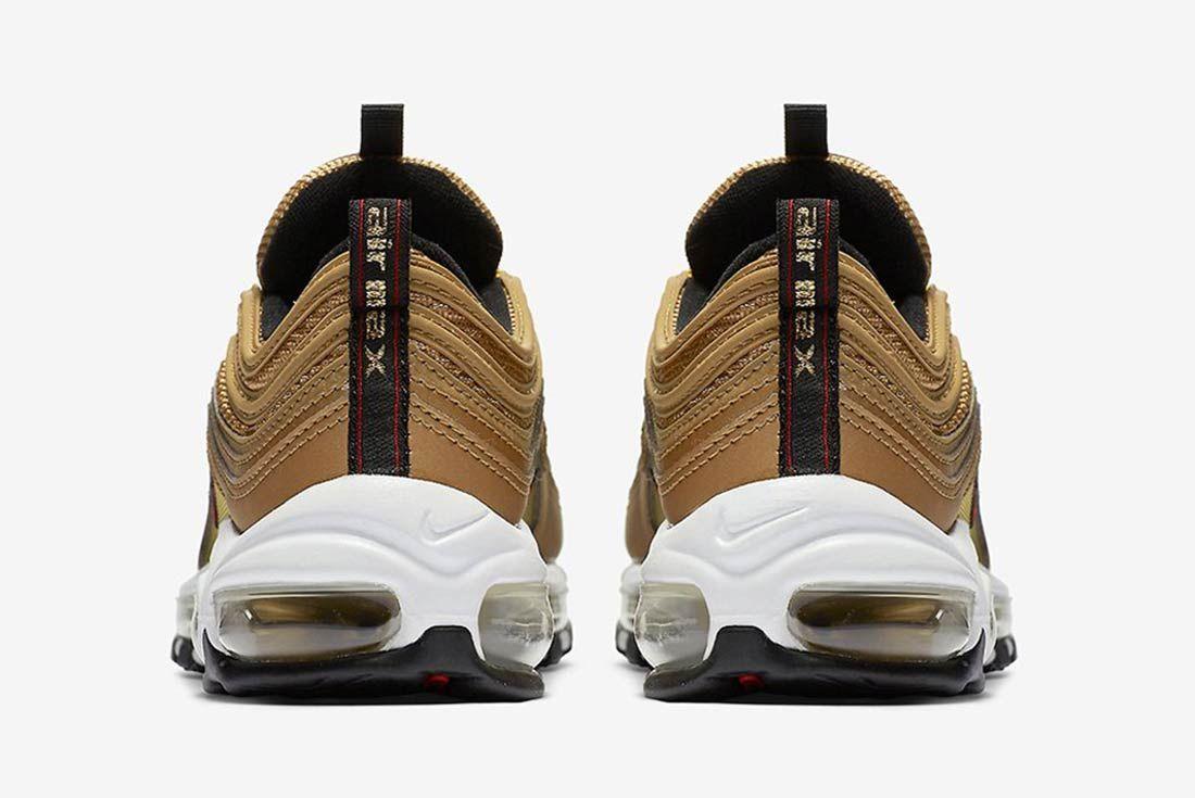 Nike Air Max 97 Metalic Gold 4