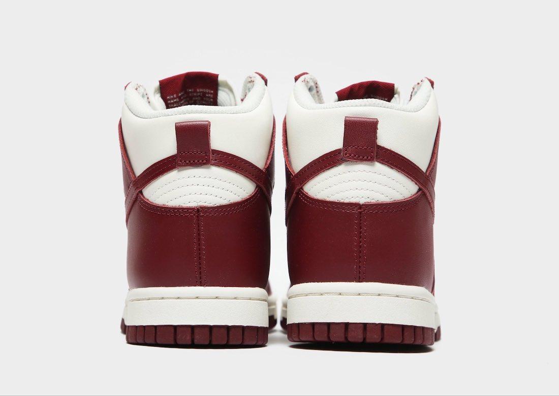 Closer Look: Nike Dunk High 'Team Red'