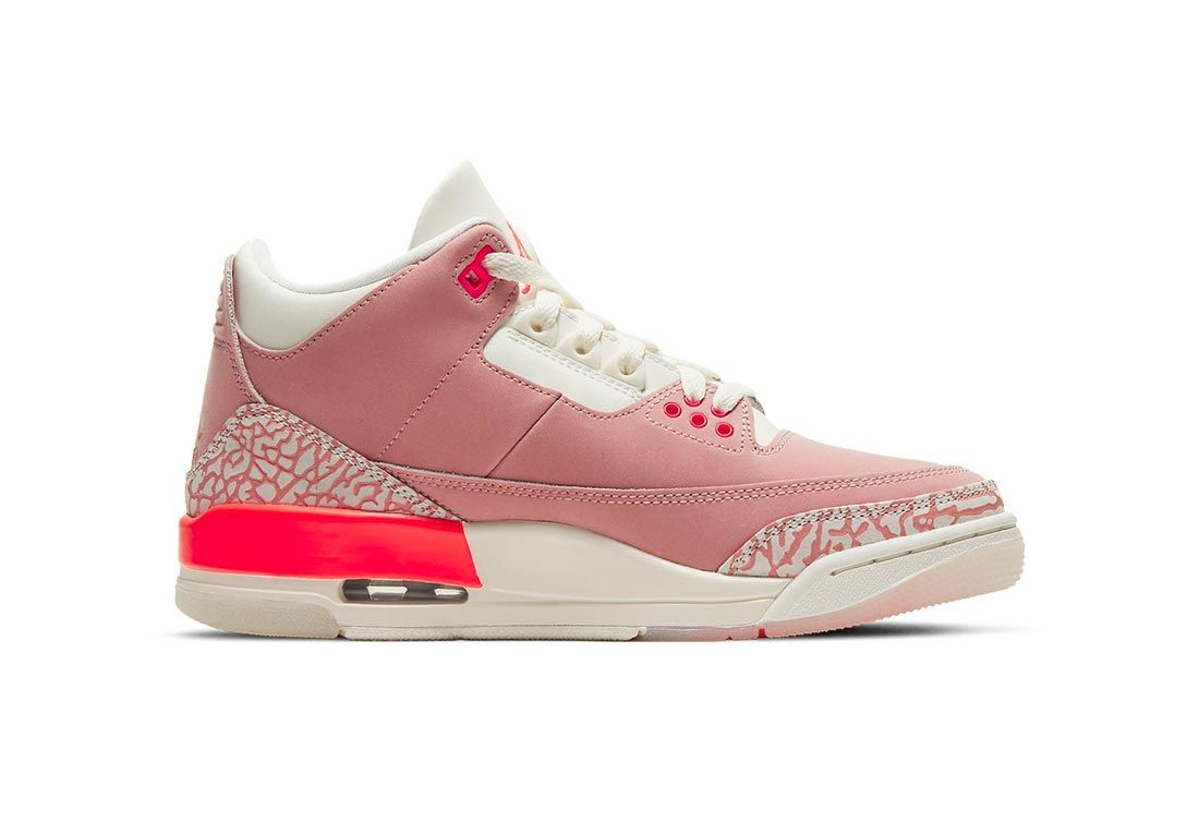 Air Jordan 3 WMNS 'Rust Pink'