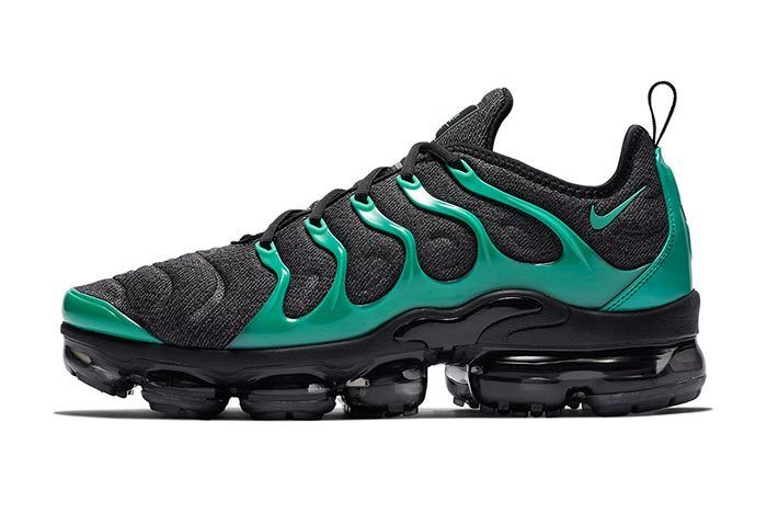 Nike Air Vapormax Plus Green Black 1