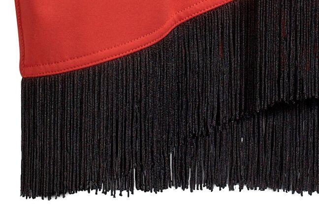 Adidas Jeremy Scott Fringe Logo Dress 1 1