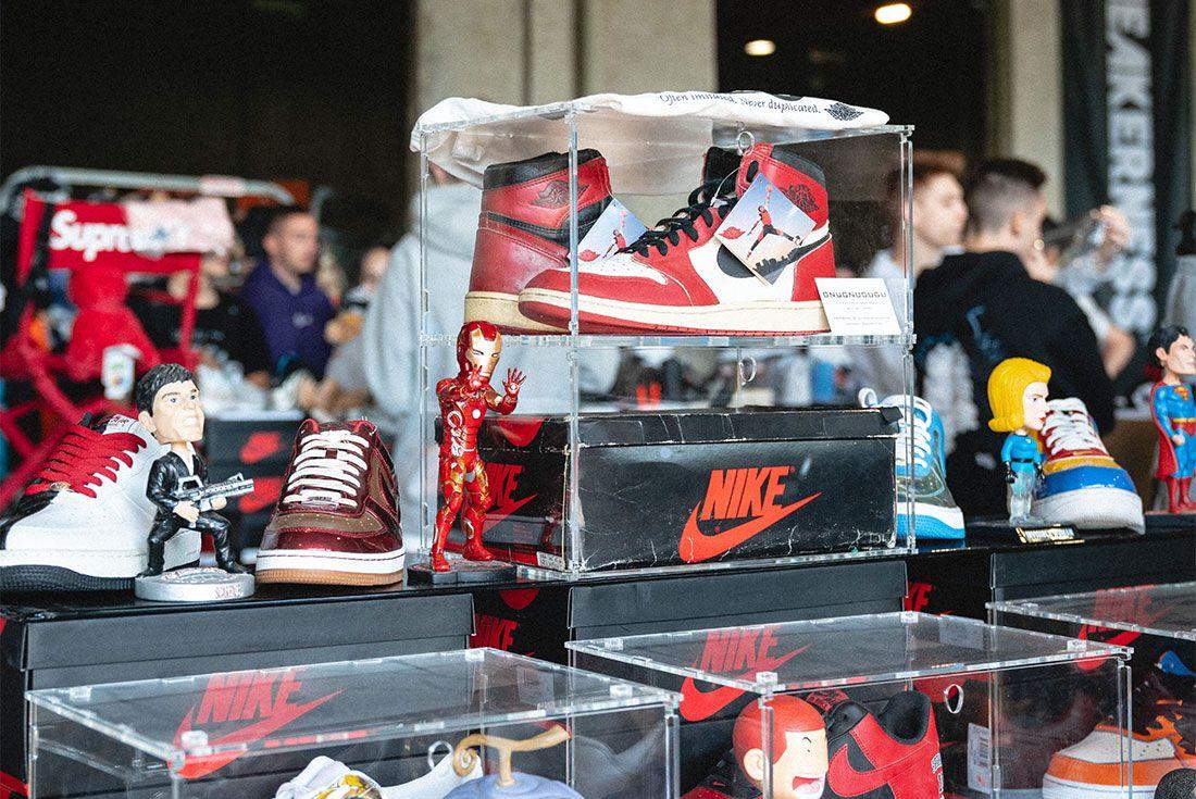 Sneakerness Milan Sneaker Freaker Vendor Tables13