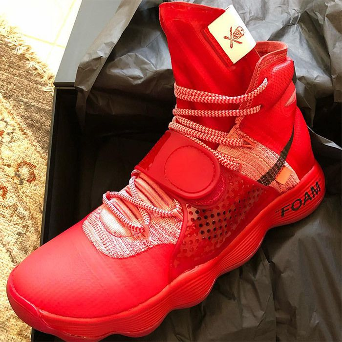Virgil Abloh X Nike React Hyperdunk 2017 P J Tucker 1