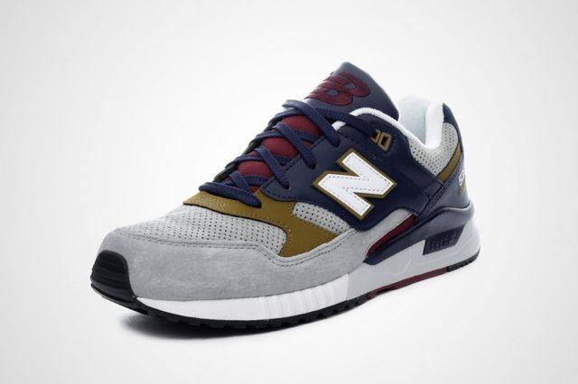 New Balance 530 Grey Navy Gold 2
