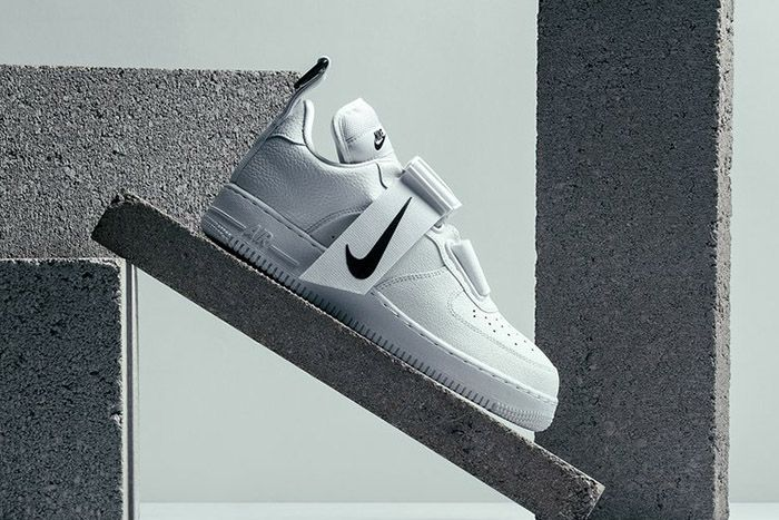Nike Air Force 1 Utility White Black Ao1531 101 Where To Buy Side Profile