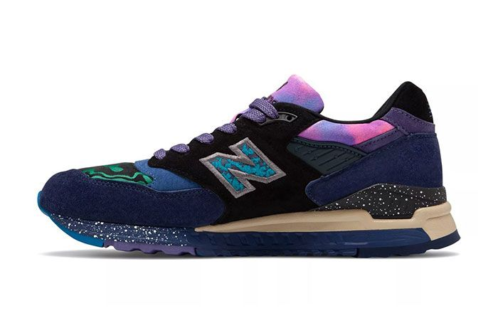 New Balance Made In Us 998 Blue Green Galaxy Colorway Release 2 Side