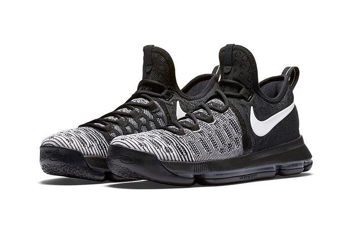 Nike Zom Kd 9 Blackwhite 5