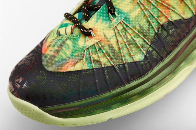 Nike Lebron X Low Backtoback Pack Hero Toe Detail 1