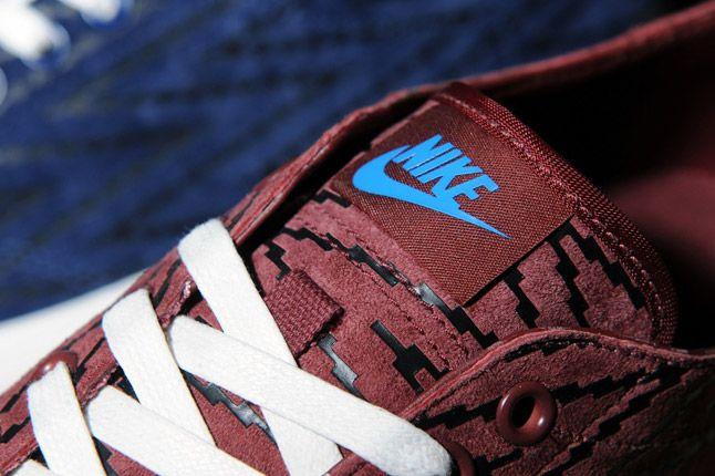 Size Nike Geometric Pack Nike Zoom All Court 2 Low Burgundy Toe 1