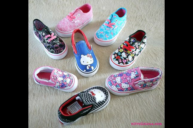 Hello Kitty Vans Summer 2012 09 1