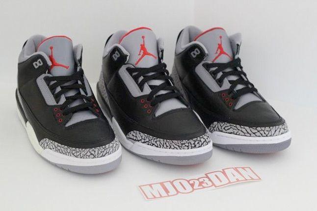 Air Jordan Iii Comparison 3 1