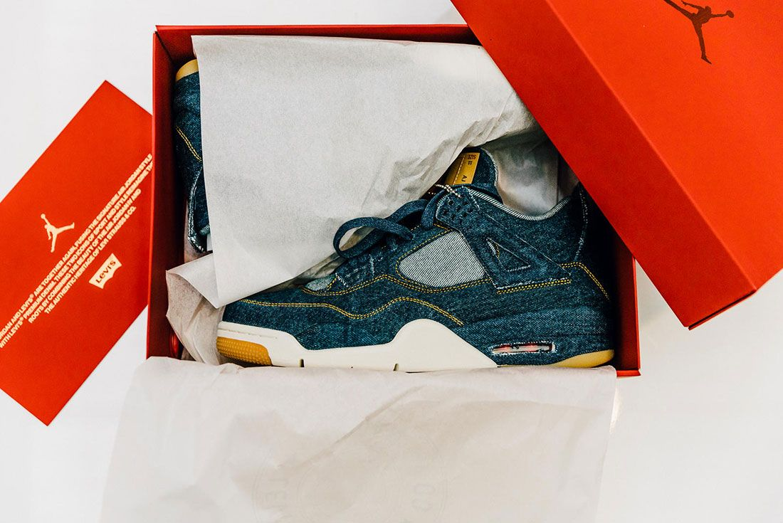 Levi's x Air Jordan 4 Denim 2018