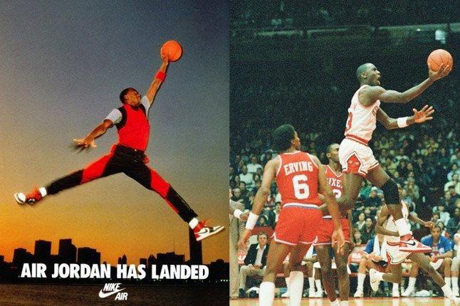 Michael Jordan Dunk 1