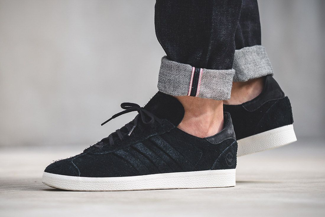 Wings And Horns Adidas Gazelle Black 1