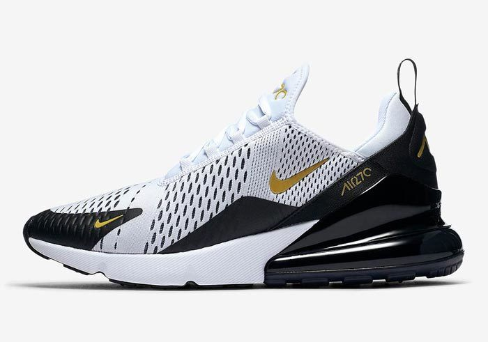 Nike Air Max 270 White Black Gold Av7892 100 1 700