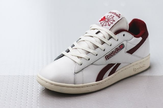 Reebok Npc Uk Chalk Burgundy 4