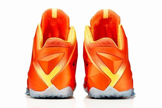 Le Bron 11 Forging Iron Heel