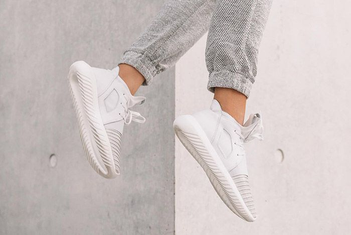 Adidas Tubular Defiant Womens Crystal White 3